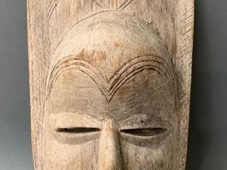 South American Wooden Carved Tribal Mask