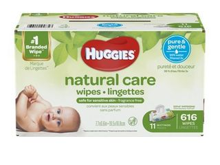 Huggies Natural Care Baby Wipes Case   616 Count