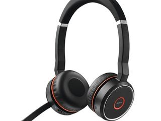 Jabra Evolve 75 MS Stereo Wireless Headset   Music Headphones