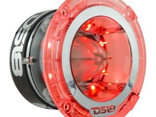 DS18 PRO 1 75  RGB lED POlY CARBONATE SUPER BUllET TWEETER 600 WATTS   SINGlE