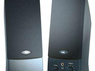 Cyber Acoustics CA 2016WB 2 0 Speaker System   Black