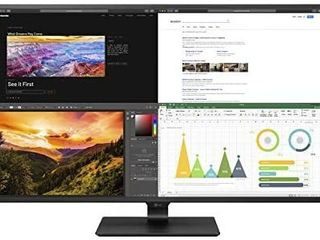 lG 43UN700 B 43 Inch Class UHD  3840 X 2160  IPS Display with USB Type C and HDR10 with 4 HDMI inputs  Black Retail   699 99