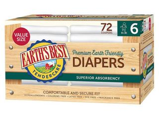 Earths Best Tender Care Diapers Club Pack   Size 1   144 Pack