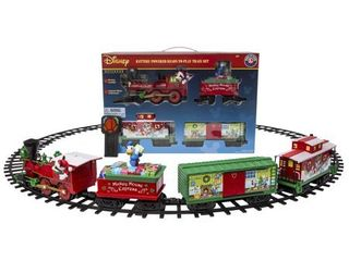 lionel Mickey Mouse Christmas Express Ready to Play Train Set