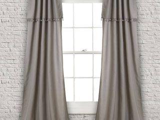 lush Decor Ivy Tassel light Filtering Window Curtain Panels   Set of 2