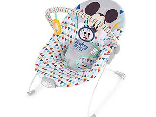 Disney Mickey Bouncer w  Soothing Vibration