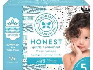 The Honest Company Diapers   Size 5   50 Pack