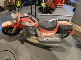 Harley Power Wheels  Needs Work  Electric Car  Needs Put Together
