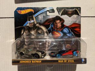 Batman Vs Super Man Hot Wheels