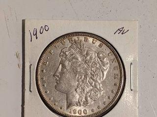 Silver 1900 Morgan Dollar