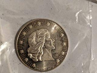 1981 1oz  999 Fine Silver Worldwide Mint Bullion