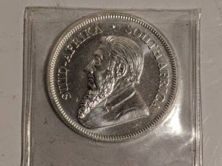 2018 South Africa 1 oz  999 Fine Silver Krugerrand