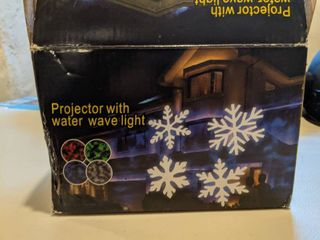 Projector With Water Wave light
