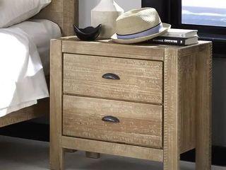 Grain Wood Furniture Montauk 2drawer Nightstand Solid Wood