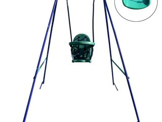 AlEKO 2 in 1 Convertible Portable Toddler and Children s Swing Chair Retail 104 99