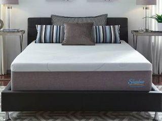 Slumber solutions 14 inch gel memory foam mattress