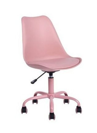 Porch   Den Stringer Molded  Padded Seat Mid century Modern Task Chair Retail 103 49