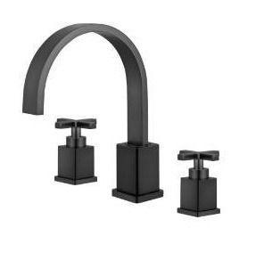 legion furniture 8 in widespread 2 handle bathroom faucet with drain oil rubber black
