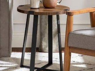 Carbon loft Kenyon Round Metal Wrap Side Table Retail 89 99