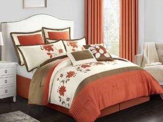 Grand Avenue lema 8 piece comforter set  king size