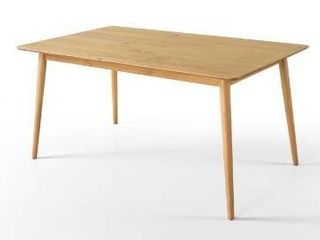 Priage by Zinus Mid Century Modern Wood Dining Table Retail 259 49