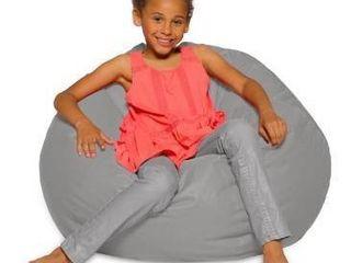 Kids Bean Bag Chair  Big Comfy Chair   Machine Washable Cover