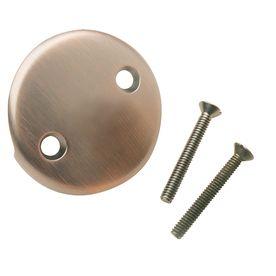 Keeney Mfg  Co  Oil Rubbed Bronze Metal Face Plate