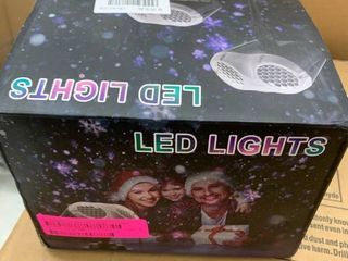 Outdoor Christmas lED Projection light  Tested  lights up  has damage