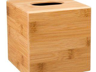 Creative Home Bamboo Tissue Box Holder