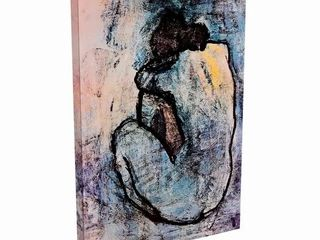 Silver Orchid  Blue Nude  by Pablo Picasso Canvas Print Wall Art Retail 90 24