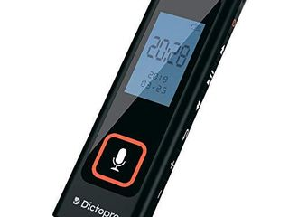 Digital Voice Activated Recorder w Password Protection   HQ Recording from 60ft  Record lectures   Meetings  Sensitive Microphone  Automatic Noise Reduction  582H Playback  Small   Portable  USB  8G