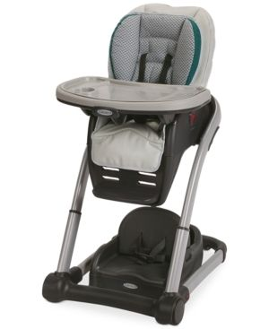 Graco Blossom 6 in 1 Seating System Convertible High Chair   Sapphire  Blue