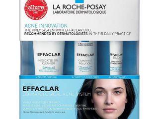 la Roche Posay Effaclar Dermatological 3 Step Acne Treatment System   7 5oz