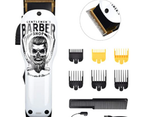 BESTBOMG PROFESSIONAl BARBER SERIES 2AlONGER lIFE   20 minutes charge 180 minutes run time cord  cordless adjustable blades