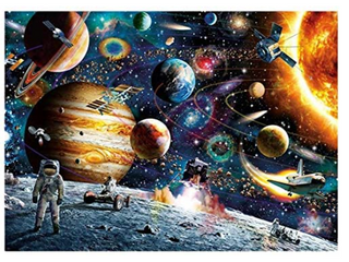 SPACE TRAVElER HIGH QUAlITY PAPER PUZZlE