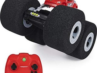 Air Hogs Super Soft  Stunt Shot Indoor Remote Control Stunt Vehicle with Soft Wheels  for Kids Aged 5 and up