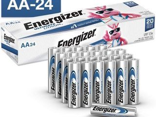 Energizer Ultimate lithium AA Batteries  24 Pack