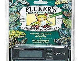 Fluker s Digital Thermometer Hygrometer for Reptiles