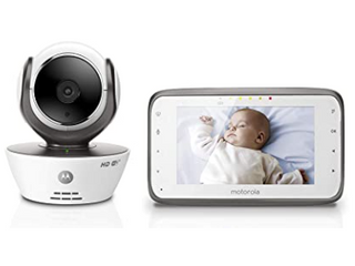 Baby Monitor  Wireless 4 3 inches Color Monitor  WHITE