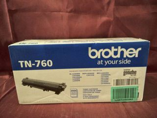 BROTHER GENUINE INK   TONER  MODEl   760