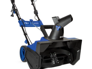 Snow Joe SJ625E 21 Inch 15 Amp Electric Snow Thrower with 4 Blade Auger   light
