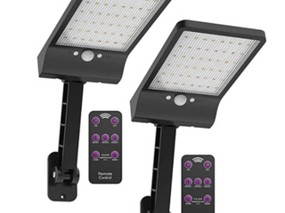 HighydrolED Solar lights Outdoor w  Remote