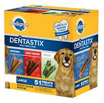 Pedigree Dentastix 51 Treat Variety Pack