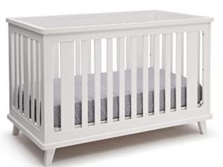 Delta Children Ava 3 in 1 Crib   White