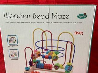 Wooden Bead Maze   Multicolor
