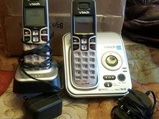 VTech Communications Dect 6 0 Two Handset Phone