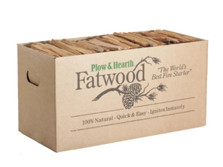 Plow   Hearth Fatwood