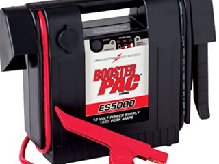 High performance battery booster pack ES5000 12 volt power supply 1500 Peak amps