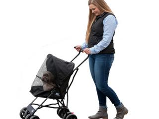 PET GEAR  BlACK pet stroller