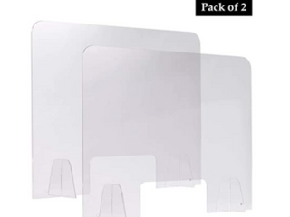 EGlAF  3 pieces pack 31 5  by 24   acrylic sheet guard